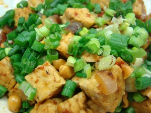 Vegan Eats 007 300x225 Spicy Thai Tempeh with Cashews, from Terry Walters Clean Food